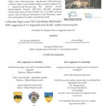 Harsány-hegyi csata meghívó 2015